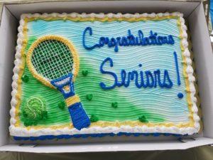senior day cake