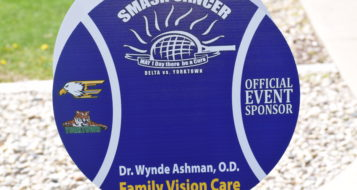Family Vision Care sponsorship ball