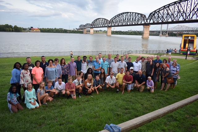 Team at Ohio River